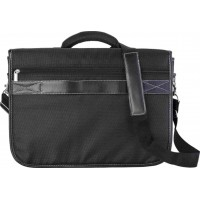 Polyester 1680D laptop bag with a PU lid