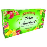 TARLTON Assortment 5 Flavour Green Tea (100 x 2 g)